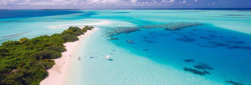 plage paradisiaque vacances